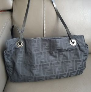 👜Authentic👜Fendi FF Monogram Shoulder Bag